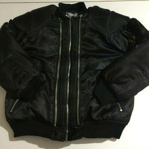 Swiss Cross Medium Black Full Zip Jacket 10/12